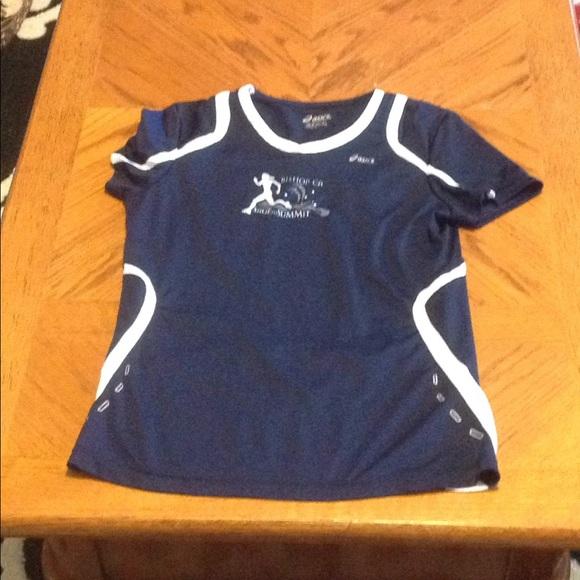 625fe0b37b39f Asics Sage To Summit Running Shirt Size S Small